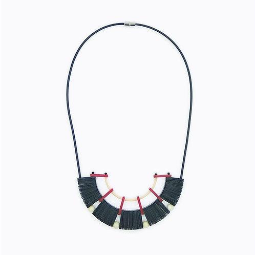 contemporary greek jewelry Misineza vinyl epidaurus minor necklace