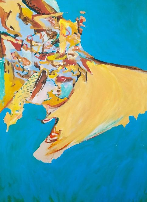 contemporary greek art mixed media psychograph Vea