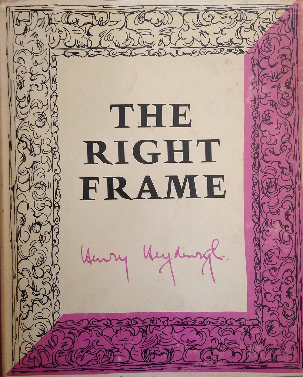 The right frame, a consideration of the right and wrong methods of framing pictures