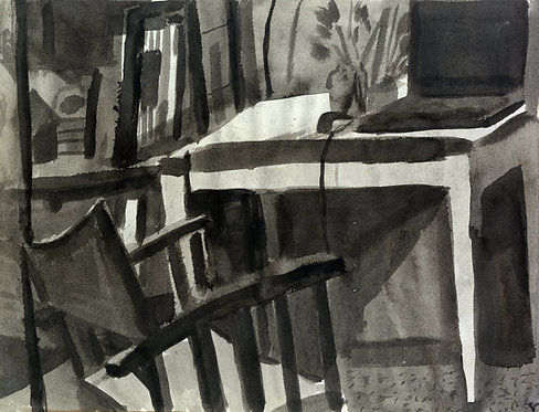 contemporary greek art painting ink on paper buy online