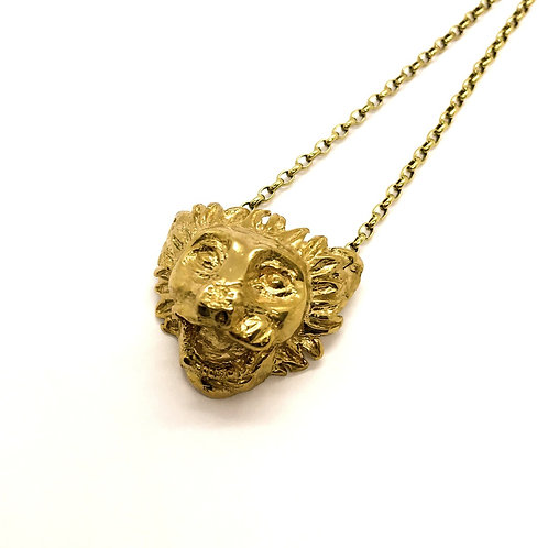 lion greek jewelry Myrogianni pendant necklace