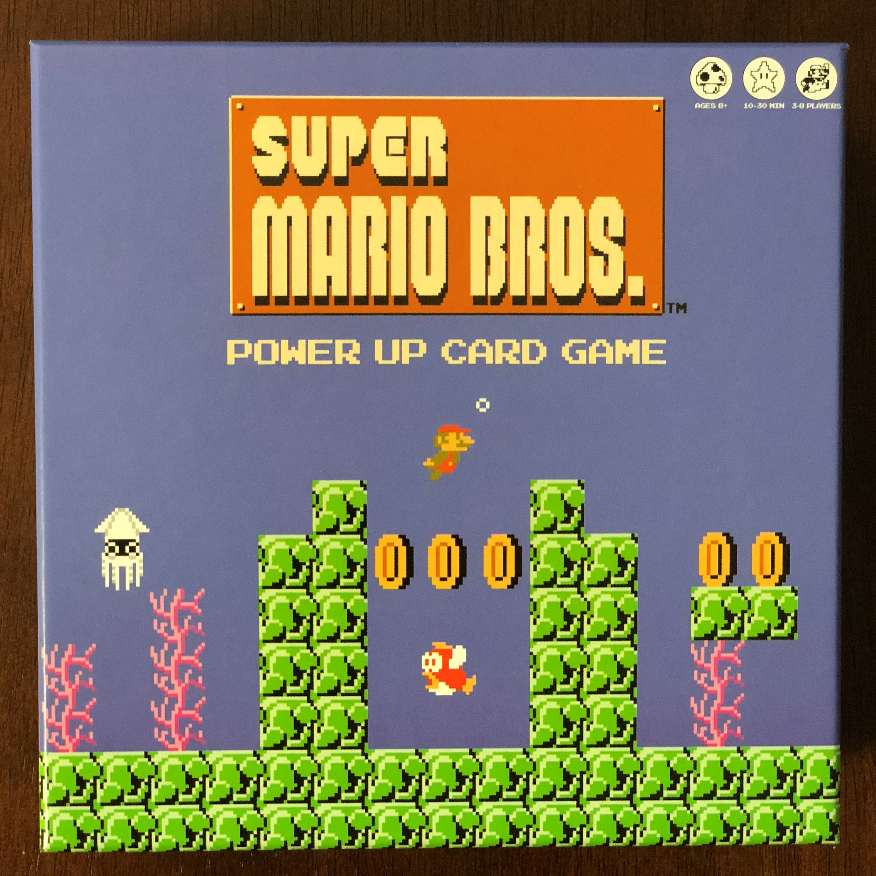 Super Mario Power Up Card Game