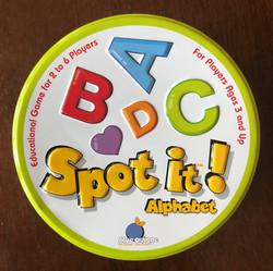 Spot it! Alphabet