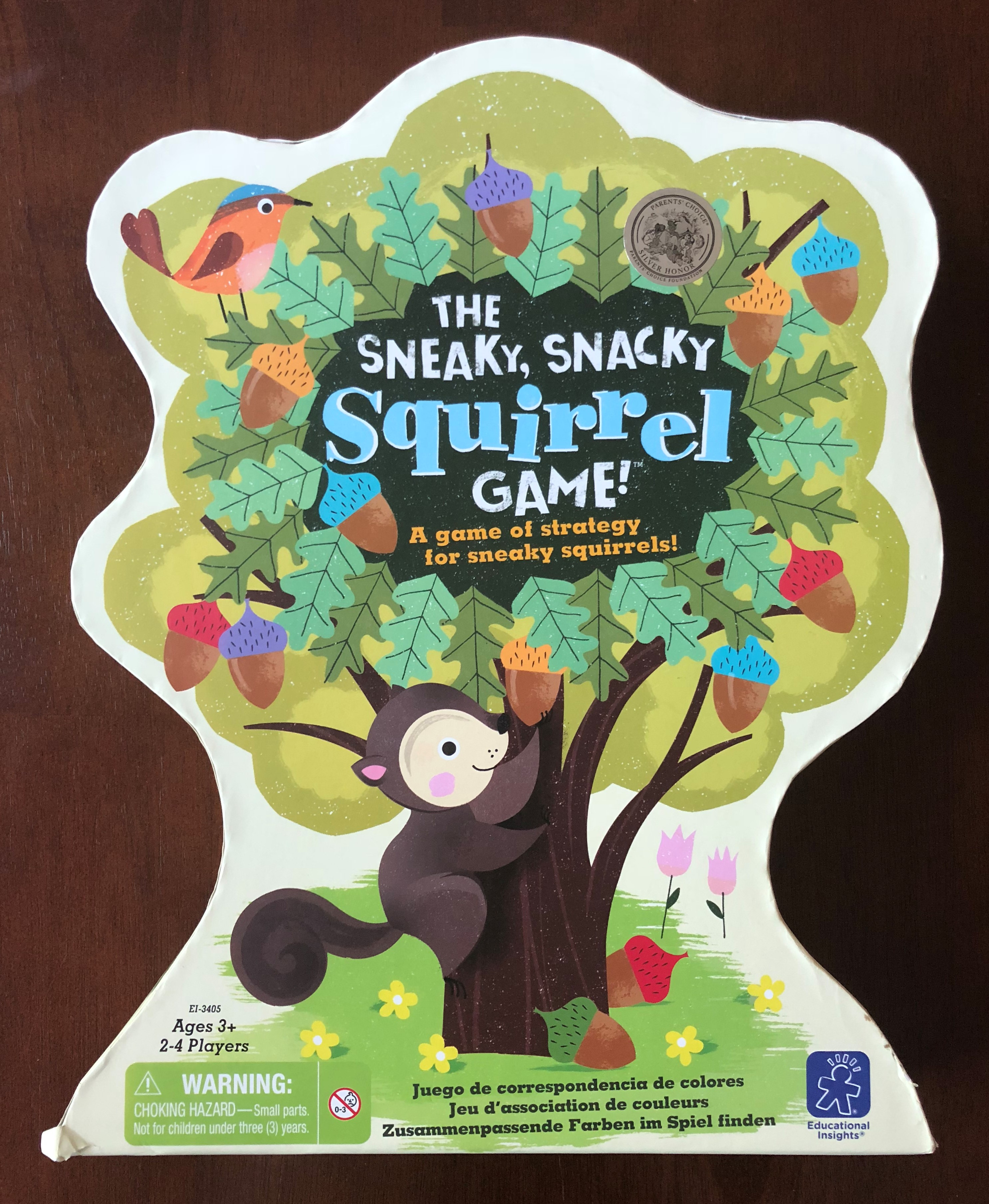 The Sneaky, Snacky, Squirrel