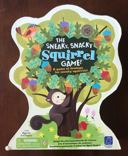 The Sneaky, Snacky, Squirrel Game