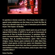 Concert avec Bob Neal  - 19 au 24 Juille
