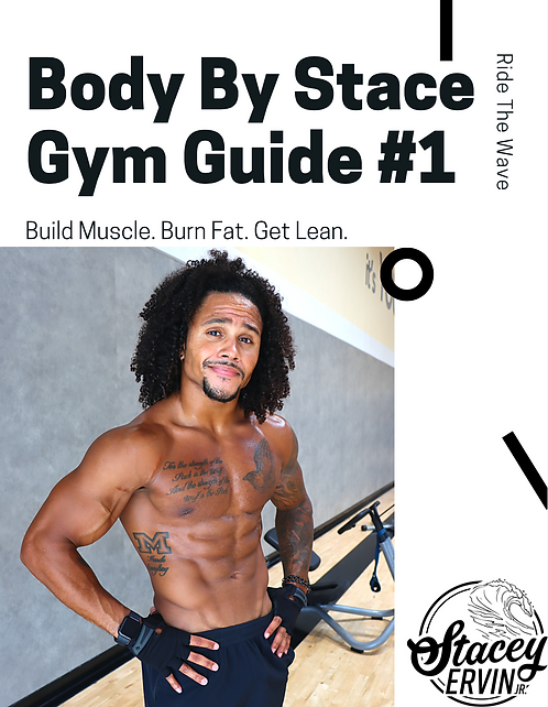 Body By Stace - Gym Guide #1