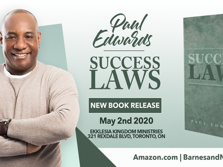Success Laws New Book Release