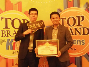 Heptatrick STIMUNO sebagai Top Brand Award For Kids