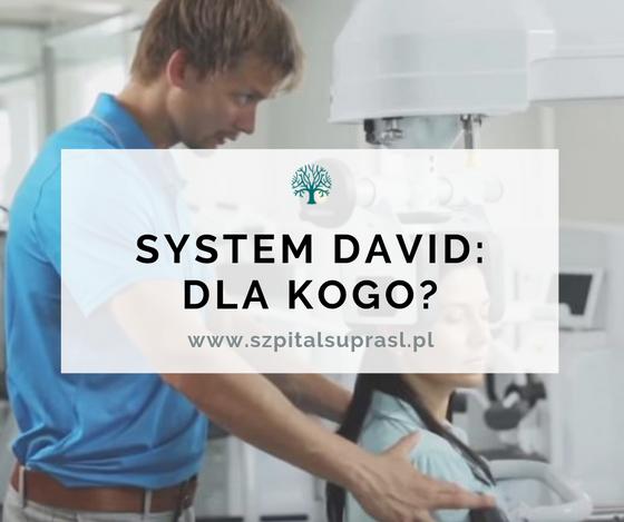 System DAVID: Nowoczesna Rehabilitacja Kręgosłupa