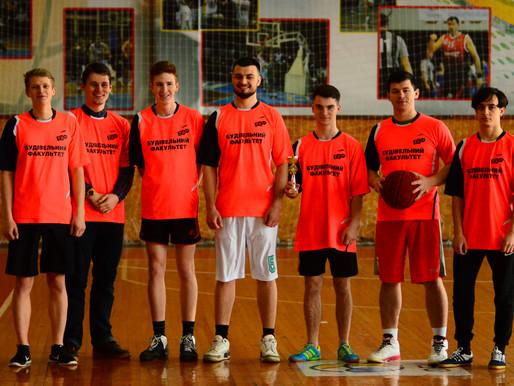 Студенти будівельного факультету - СРІБНІ призери змагань з баскетболу!