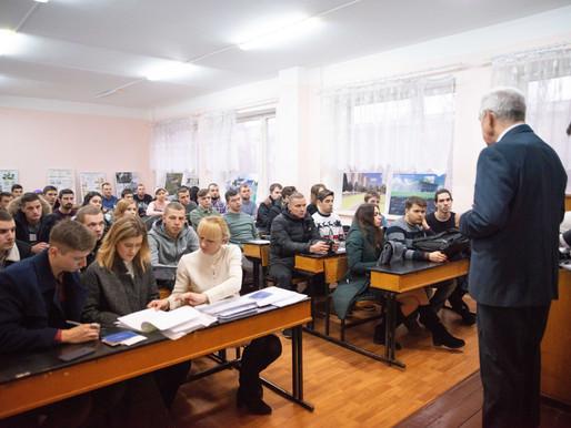 Урочисте вручення дипломів магістрам будівельного факультету КНУ