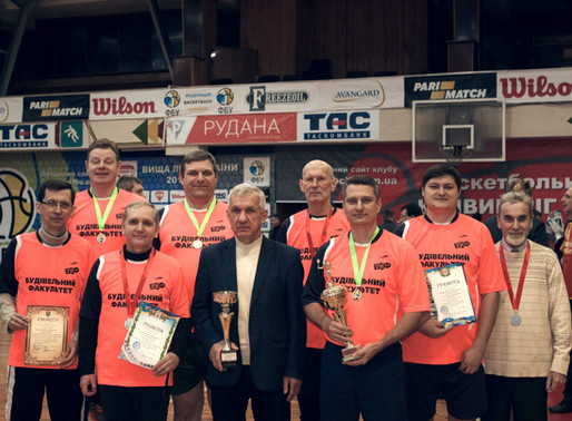 Команда будівельного факультету - переможець спартакіади КНУ!