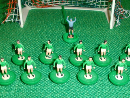 Memories of playing Subbuteo as a child