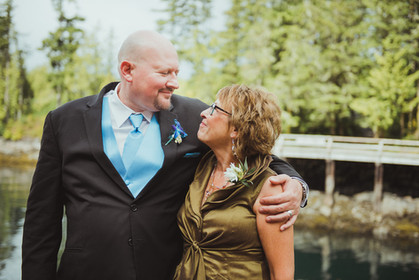 Wedding Photos with Campbell River BC Wedding Photographer