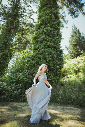 Campbell River Graduation Photographer with Prom Dress