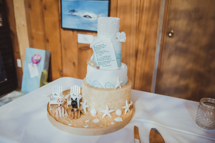 Telegraph Cove Wedding Whale Museum Reception