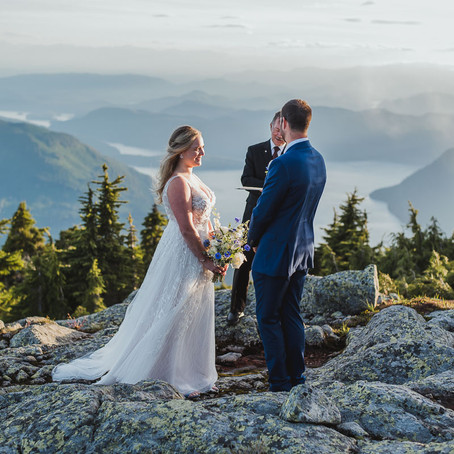 Mountaintop Elopement | Helicopter Wedding | Wedding Videography