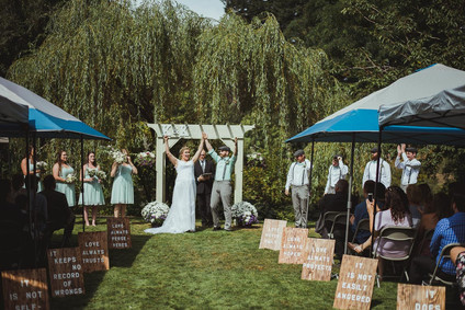 Campbell River Wedding Photographer at Haig Brown House