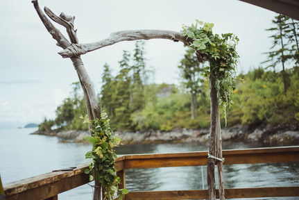 Telegraph Cove Wedding with Campbell River Wedding Photographer