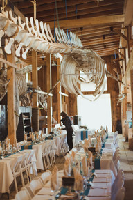 Telegraph Cove Wedding Reception and Table Settings