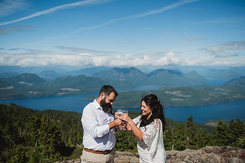 Campbell River Wedding Photographer at S