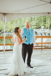 Top Photographer Telegraph Cove Wedding
