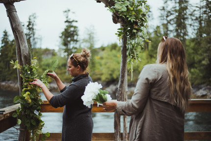 Telegraph Cove Wedding with Campbell River BC Wedding Photographer