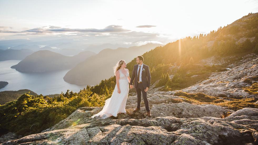 Vancouver Island Mountaintop Elopement Wedding Video   Campbell River Wedding Videographer   Victoria BC Wedding Videographer