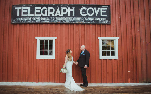 Campbell River Wedding Photographer at Telegraph Cove