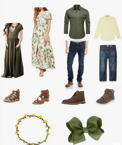 What do I wear for a family photoshoot? Outfit Ideas