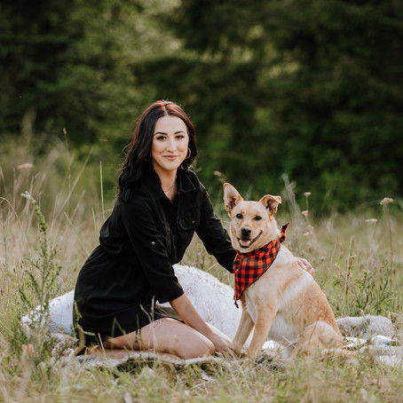 Puppy & Me Picnic | Campbell River, BC | Photography