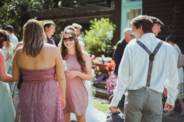 Wedding at Haig Brown Heritage House in British Columbia