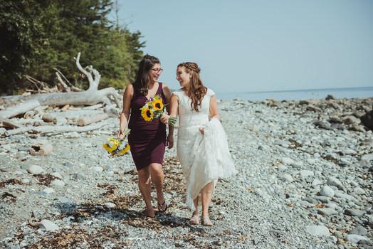 Quadra Island Wedding Photographer Campb