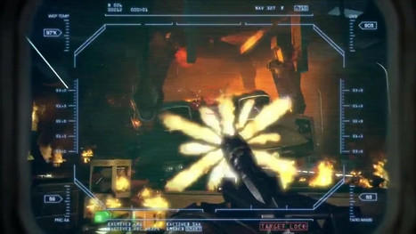 Re-Design of gameplay footag from Alien colonial marines