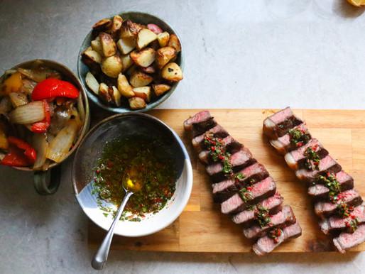 Chimichurri Steaks