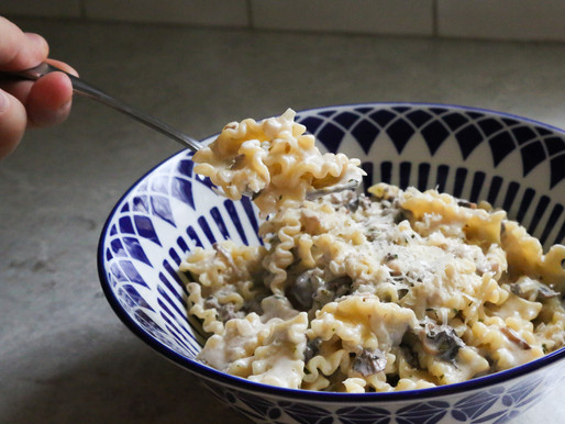 Creamy Mushroom Mafaldine