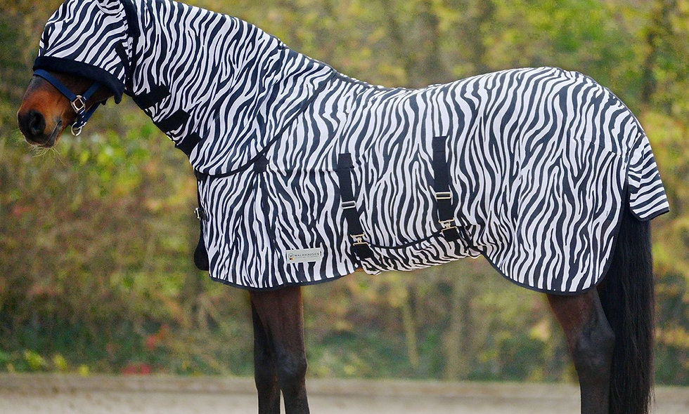 Anti Fly Rug Zebra