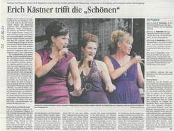Presse OZ 21-06-21 Die Schönen