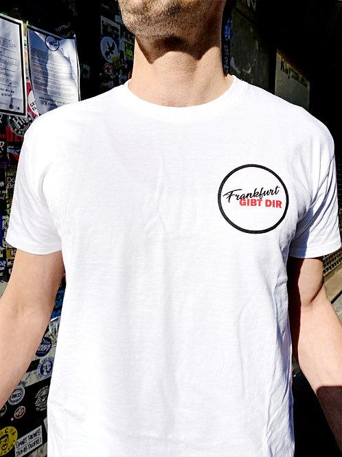 """100% Charity - """"Frankfurt GIBT DIR"""" T-Shirt"""