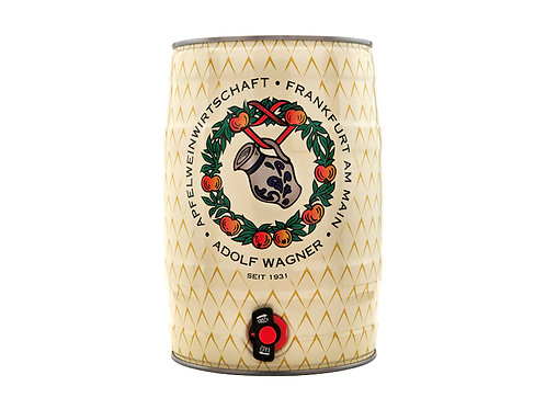 5L Fass Wagner Apfelwein pur