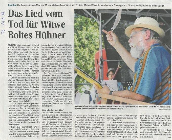 Artikel Max und Moritz OZ 14-08-18