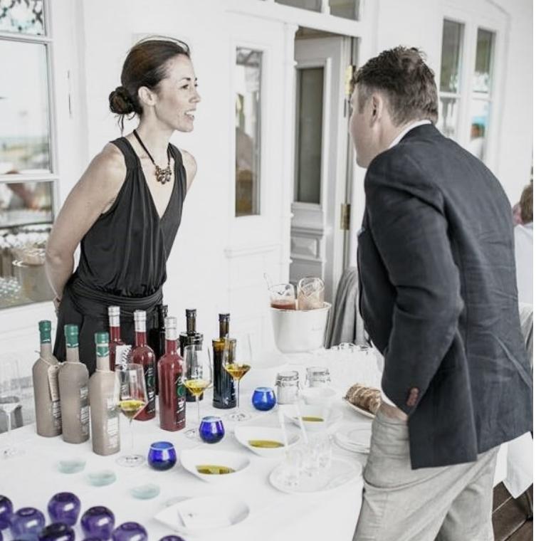 Der Grüne Salon - Olivenölverkostung mit Carmen Garcia (Köln)