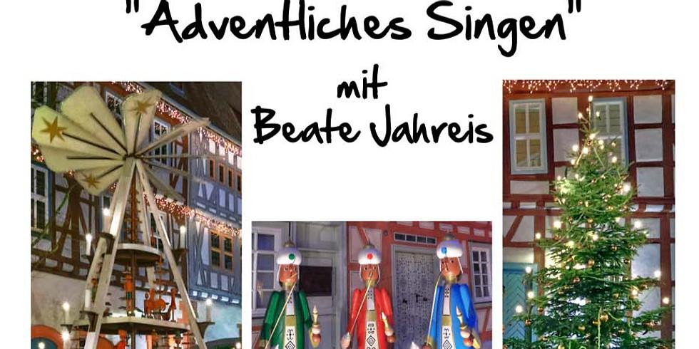 """""""Adventliches Singen"""" - mit Beate Jahreis"""