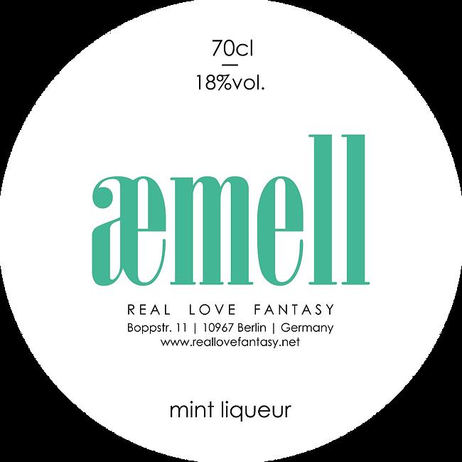 aemell Mint Liqueur Minzlikör