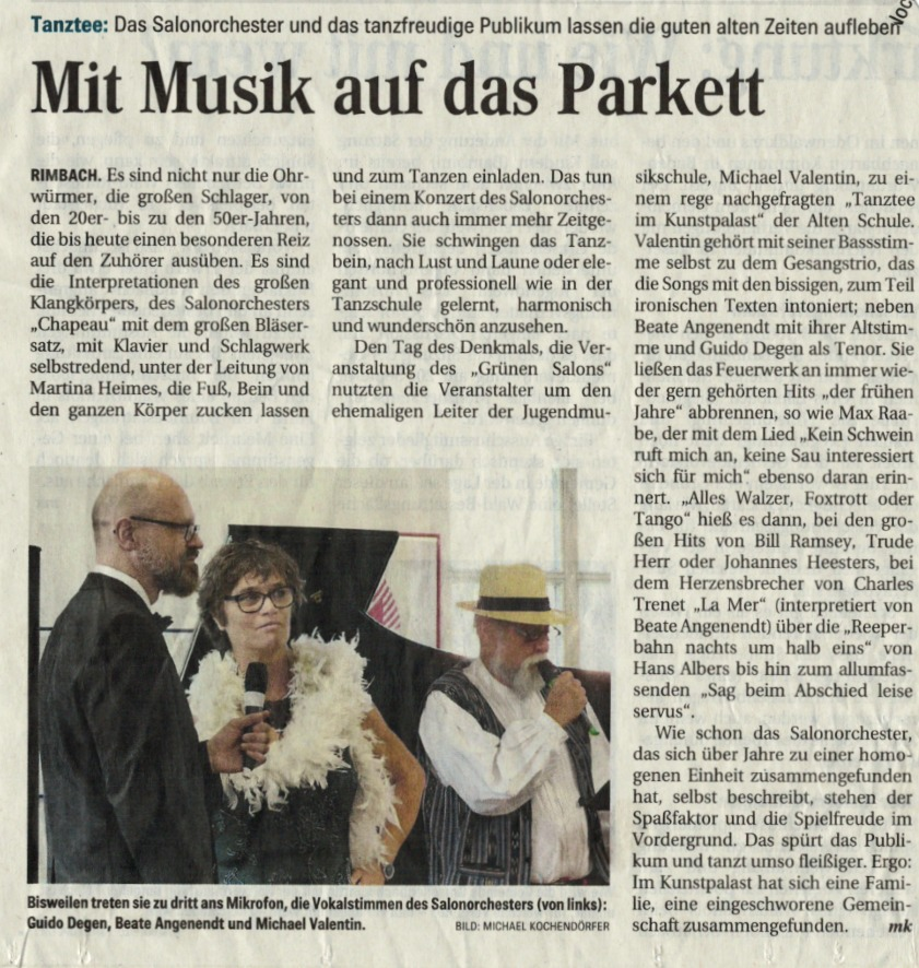 Salonorchester Chapeau (OZ)