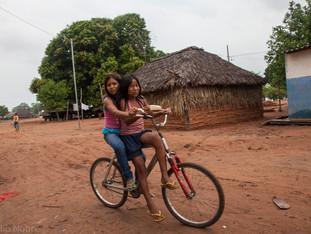 transporte na aldeia, bicicleta HN1384_karaja