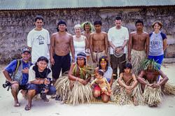 Bororo | Boe e equipe, aldeia Garças, Mato Grosso