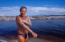banho no rio Negro, Amazonas