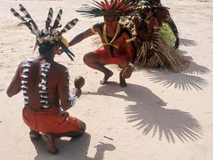 ritual de canto e dança HN0007_bororo